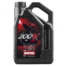 Óleo 300V FACTORY LINE ROAD RACING 4T 15W50 100% sintético 4L - MOTUL