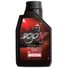 Óleo 300V FACTORY LINE OFF ROAD 4T 5W40 100% sintético 1L - MOTUL
