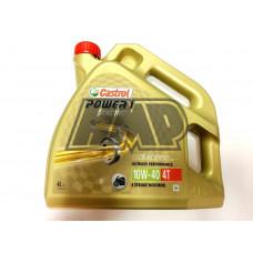 Óleo power 1 4T 10W40 racing 100% sintético 4L - CASTROL