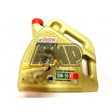 Óleo power 1 4T 10W50 racing 100% sintético 4L - CASTROL