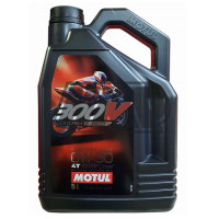 Óleo 300V FACTORY LINE RACING 4T 0W30 100% sintético 4L - MOTUL