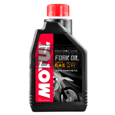 Óleo suspensão SAE 5W FORK OIL FACTORY LINE LIGHT ROAD & OFF ROAD 100% sintétic 1L - MOTUL