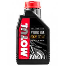 Óleo suspensão SAE 10W FORK OIL FACTORY LINE MEDIUM ROAD & OFF ROAD 100% sintético 1L - MOTUL