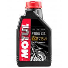 Óleo suspensão SAE 7.5W FORK OIL FACTORY LINE LIGHT ROAD & OFF ROAD 100% sintétic 1L - MOTUL