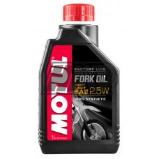 Óleo suspensão SAE 2.5W FORK OIL FACTORY LINE VERY LIGHT ROAD & OFF ROAD 100% sintétic 1L - MOTUL