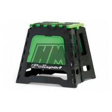 Cavalete bike stand verde - POLISPORT