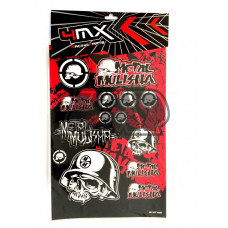 Autocolantes METAL MULISHA - 4MX
