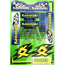 Autocolantes KAWASAKI KX