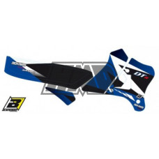 Autocolantes YAMAHA DT 125 R DTR azul com capa selim - BLACKBIRD