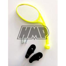 Espelho retrovisor rebativel universal amarelo neon - HP