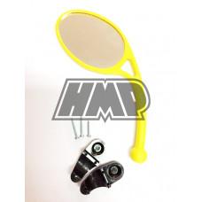 Espelho retrovisor rebativel universal amarelo - HP