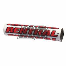 Esponja guiador branco vermelho 240 mm - RENTHAL