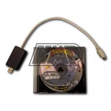 Cabo e cd com software para reprogramar rotor - HPI