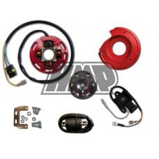 Rotor HONDA 50 / 80 / CRM / NSR / NS1 / MBX / MTX / MT / MB / NS com luz 1 mapa potencia - HPI