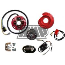 Rotor HONDA 50 / 80 / CRM / NSR / NS1 / MBX / MTX / MT / MB / NS com luz 2 mapas potencia - HPI