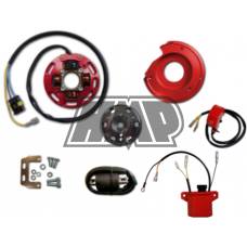 Rotor HONDA 50 / 80 / CRM / NSR / NS1 / MBX / MTX / MT / MB / NS com luz 2 mapas potencia reprogramável - HPI