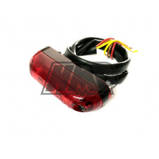 Farolim 5 LED vermelho - HP