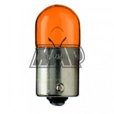 Lâmpada BA15S 12V 10W laranja - FLÖSSER