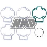 Jogo juntas cilindro PIAGGIO 50 / GILERA / TYPHOON / NRG / VESPA / APRILIA / DERBI / GILERA / ITALJET / diâmetro 47.6 mm / 6 peças - ATHENA