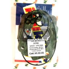 Jogo juntas cilindro DERBI SENDA / GPR / EURO 1 / 2 / 49-74 cc curso 43-45 mm - ITALKIT