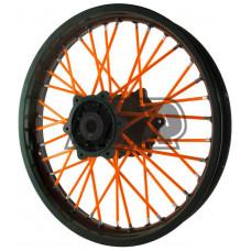 Capas raio laranja neon 72 unidades
