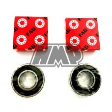 Jogo rolamentos roda YAMAHA DT 125 R / DTR / RE / DTX trás - FAG