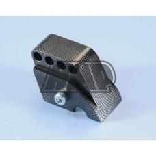 Apoio amortecedor regulável scooter GILERA / PIAGGIO / VESPA carbono - POLINI